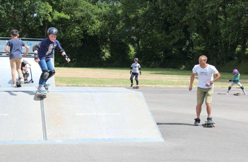 L'école de Skateboard a repris les entraînements