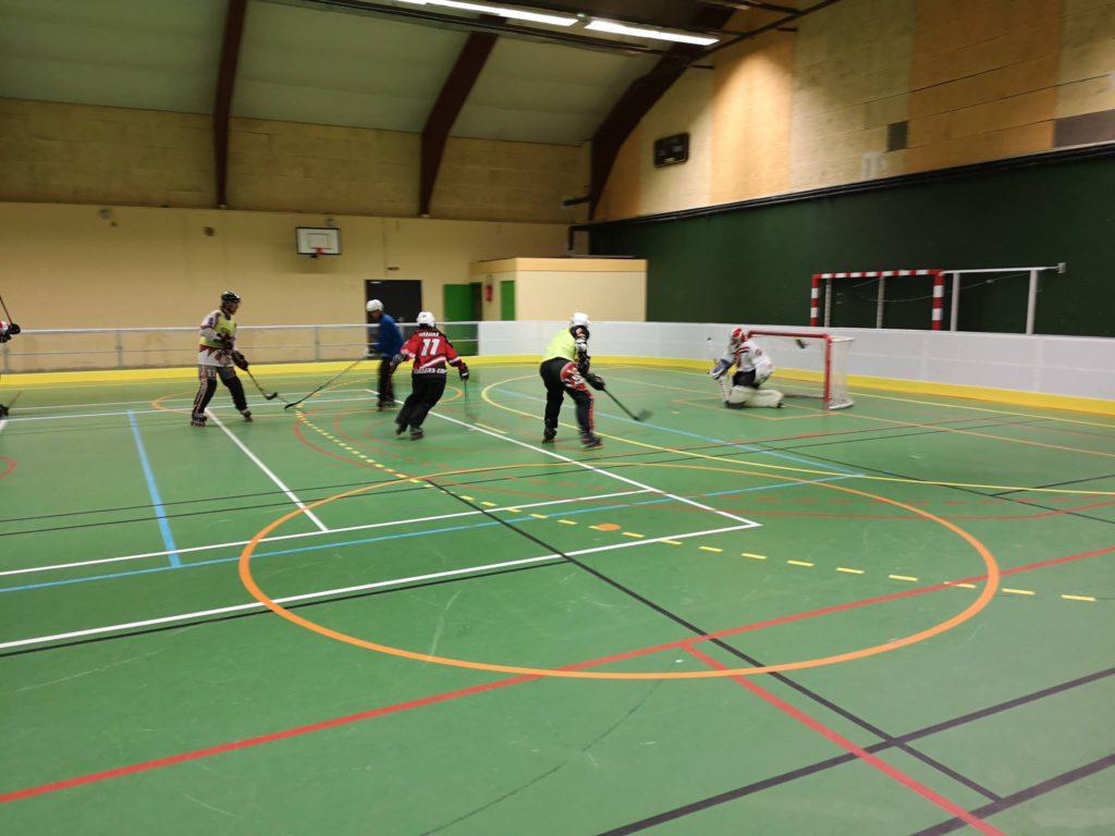Les entraînements ont démarrés pour les hockeyeurs séniors