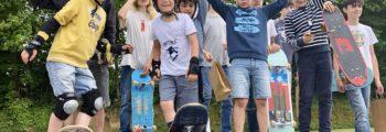 2018 – 2020 : Nouvelle section skateboard, et financement d'un Rink pour le Hockey par la mairie