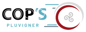 Logo des Cop's de Pluvigner, Pays d'Auray, Morbihan (56), association de Roller, Hockey, Skate, Patinage artistique