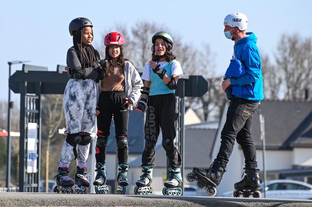 Rollerscop's organise des stages de glisse pour les vacances de Pâques